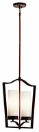 Kichler 42777OZ Aren 2-light Rotatable Hanging Pendant Light