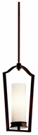 Kichler 42779OZ Aren Bronze Mini Pendant Light