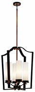 Kichler 42778OZ Aren Large 4-lamp Foyer Lighting