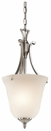 Kichler 43403CLP Wellington Square Classic Pewter Entryway Light Fixture