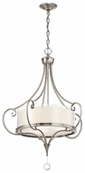 Kichler 42864CLP Lara Traditional Inverted Pendant Light