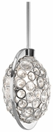 Kichler 42664CH Liscomb 3-light Modern Crystal Mini Pendant Lighting