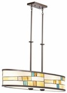 Kichler 66144 Mihaela 4-lamp Tiffany Pendant Light