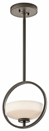 Kichler 42508OZ Olsay Modern Olde Bronze Mini Pendant Lighting