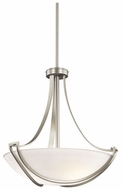 Kichler 42653NI Owego Small 3-light Pendant Lighting in Brushed Nickel