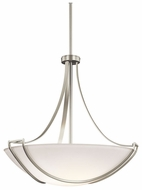Kichler 42654NI Owego Large 4-light Brushed Nickel Contemporary Pendant Lighting