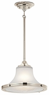 Kichler 42323PN Searcy Street Large Polished Nickel Hanging Pendant Light
