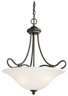 Kichler 3356OZ Stafford Classic 3-light Hanging Pendant Lamp