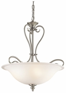 Kichler 42903NI Tanglewood Large 3-light Brushed Nickel Pendant Lighting