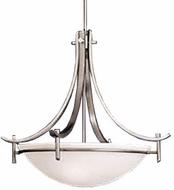 Kichler 10778AP Olympia Antique Pewter Modern Energy Efficient / Fluorescent Inverted Pendant