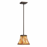 Kichler 65329 Cat's Eye Art Glass Mini Pendant Light