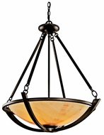 Kichler 42615OZ Carthage Pendant Light in Olde Bronze