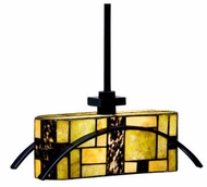 Kichler 65327 Bayonne Art Glass Mini Pendant Light