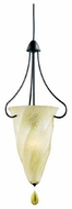 Kichler 3260TZG Shell Pendant Light