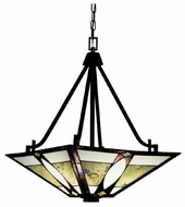 Kichler 65322 Denman Art Glass Pendant Light