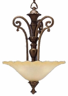 Kichler 2698PRZ Cheswick Parisian Bronze 3-Light Traditional Inverted Pendant