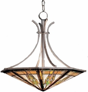 Kichler 65054 Tiffany Art Glass Creations 6 Light Pendant fixture