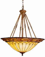 Kichler 65188 Tiffany Art Glass Creations 6 Light 32 inch Pendant