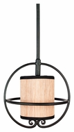 Quoizel GRY1510SN Grayson 10 Inch Diameter Mini Serengeti Finish Lighting Pendant