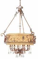Troy F1958SBZ Heirloom 8 Light Pendant