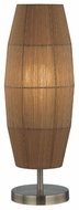 Lite Source LS21270ABAMB Parvati Rustic Table Lamp