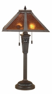 Lite Source LS3543-MICA Hacienda Mica Shade Table Lamp