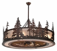 Meyda Tiffany 108302 Tall Pines Chandel-Air Rustic 44 Inch Diameter Chandelier Light Fixture