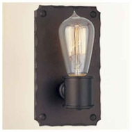 Troy B2501CB Jackson 1-light Wrought Iron Wall Sconce