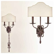 Troy B2522WI Sconces 2-light Convertible Traditional Style Wall Sconce