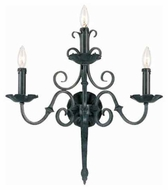 World Imports 536399 Sconce 3-light 21  Traditional Wall Sconce