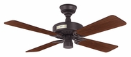 Hunter 22289 Classic Original 4 Blade New Bronze Finish Ceiling Fan - 42 Inch Span