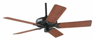 Hunter 23855 Classic Original Antique Black Finish 52 Inch Span Ceiling Fan - 5 Blades