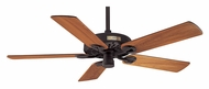 Hunter 22282 Outdoor Original New Bronze 5 Blade 52 Inch Span Damp-Rated Ceiling Fan