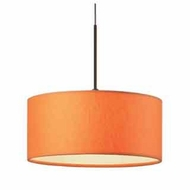 Bruck Cantara II Down Contemporary Mini Pendant Light
