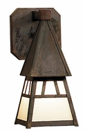 Arroyo Craftsman DS-4 Dartmouth Craftsman Indoor/Outdoor Wall Sconce - 5 inches wide
