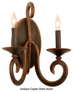 Kalco 3272 Santa Barbara Tortoise Shell 2-Lamp Candle Wall Sconce