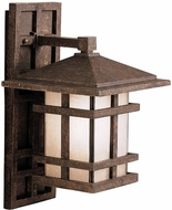 Kichler 9130AGZ Cross Creek 16 Inch Outdoor Wall Lantern