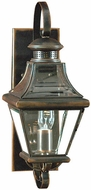 Quoizel CAR8728AC Carleton 18 inches tall outdoor lighting wall fixture in aged copper