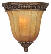 Crystorama 9310-ES Yorktown 9 Inch Tall Traditional Espresso Finish Pocket Wall Sconce Light