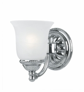 Crystorama 681-CH Chesapeake Traditional Chrome Finish 7 Inch Tall Sconce Lighting