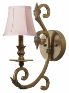 Crystorama 6911-FB Royal Traditional Florentine Bronze Finish 16 Inch Tall Wall Lighting Fixture