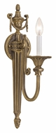Crystorama 7001-RB Arlington Antique Roman Bronze Finish 20 Inch Tall Candle Wall Sconce