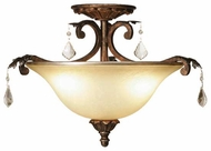 Artcraft AC1832 Florence Semi-Flush Ceiling Light