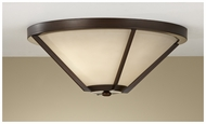 Feiss FM365HTBZ Nolan Large 16  Flush Mount Ceiling Light