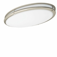 AFX CSV3232NT Contemprorary Oval Fluorescent Flush-Mount Ceiling Light