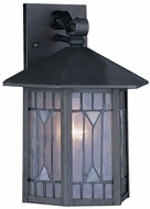 Quoizel CL8427Z Chaparral 12 inches tall outdoor wall lighting fixture in medici bronze finish