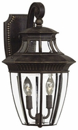 Quoizel GT8981IB Georgetown 18 inches tall outdoor wall light fixture in imperial bronze