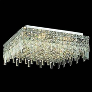 Worldwide 33619 Worldwide 20  12-light Semi-Flush Ceiling Light w/ Accent