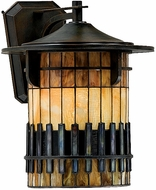 Quoizel TFAR8415BE Autumn Ridge Tiffany Large Outdoor Wall Sconce