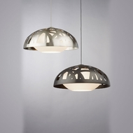 Tech Ventana 12 Inch Diameter Modern Ceiling Pendant Light